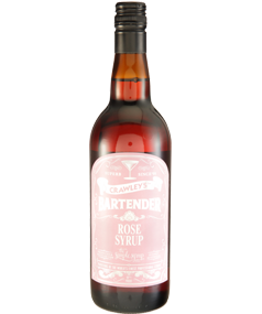 Crawley's Rose Syrup