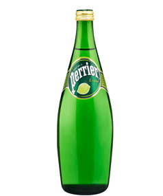 PERRIER SPARKLING MINERAL WATER WITH LIME
