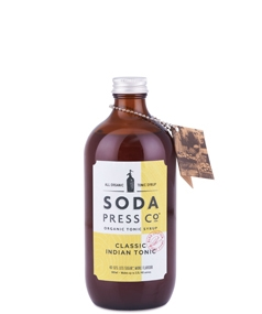 Soda Press Classic Tonic Syrup