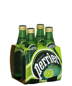 PERRIER SPARKLING LIME 4 PACK