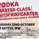 Broken Shed Vodka MasterClass