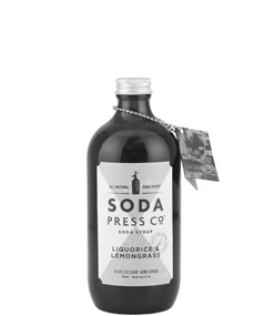 Soda Press Liquorice & Lemongrass Syrup
