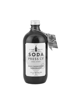 Soda Press Old Fashioned Lemonade Syrup