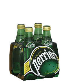 PERRIER SPARKLING WATER 4 PACK